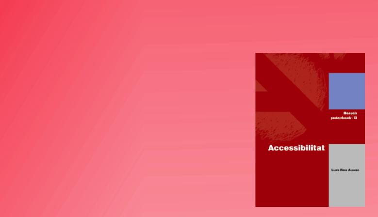 ACCESSIBILITAT - Vol. XI