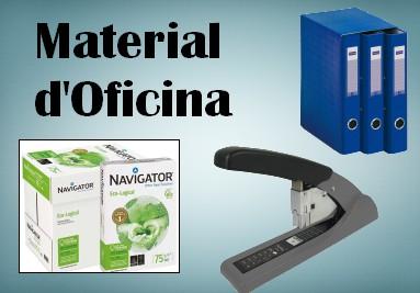 MATERIAL D'OFICINA